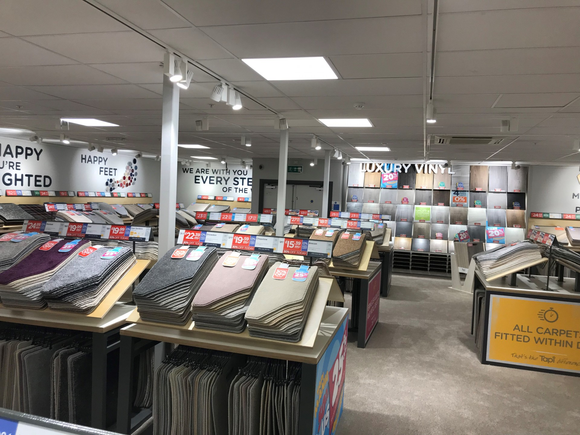 Tapi Carpets Edinburgh Homebase