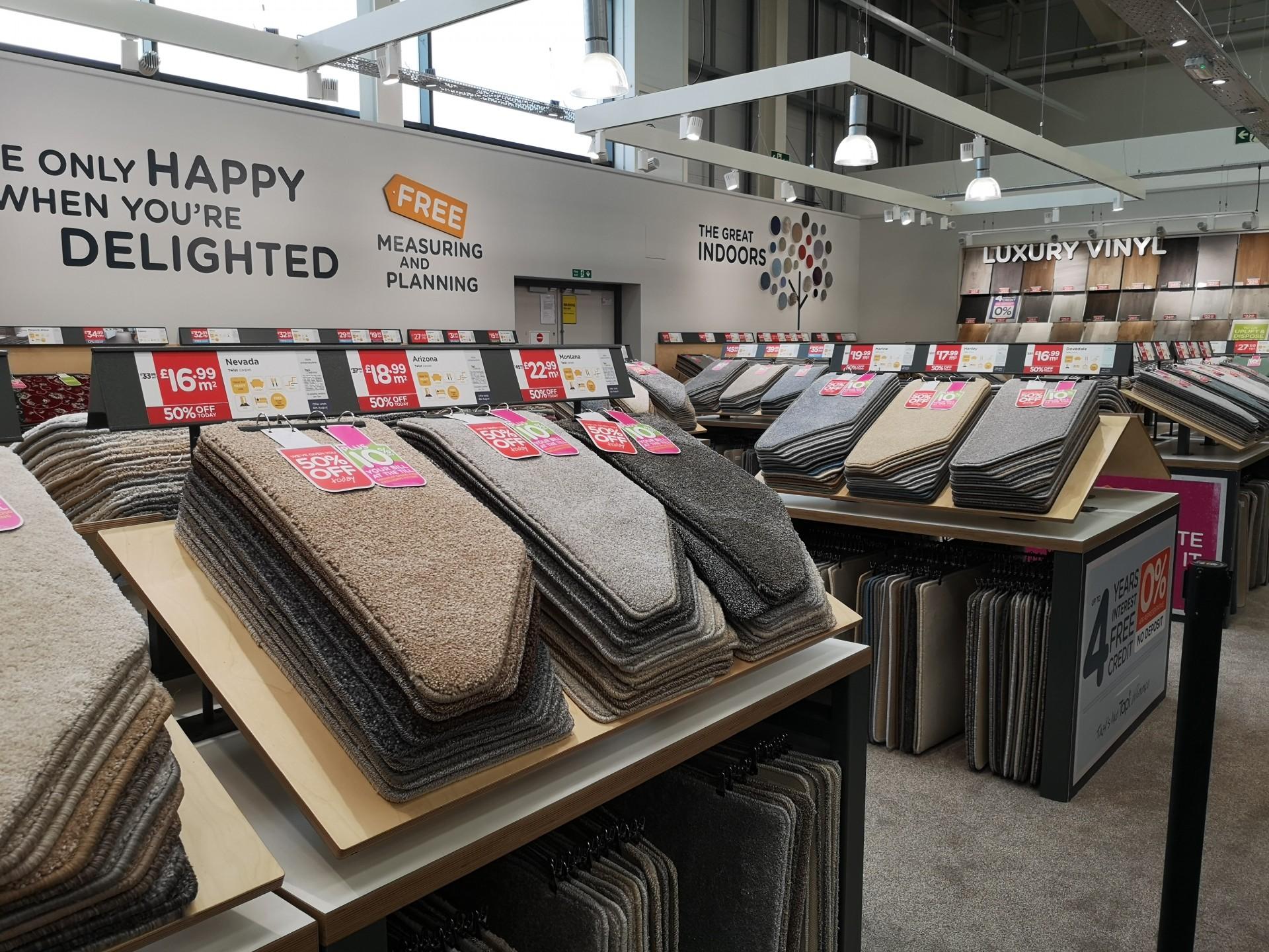 Tapi Carpets Aylesford Homebase