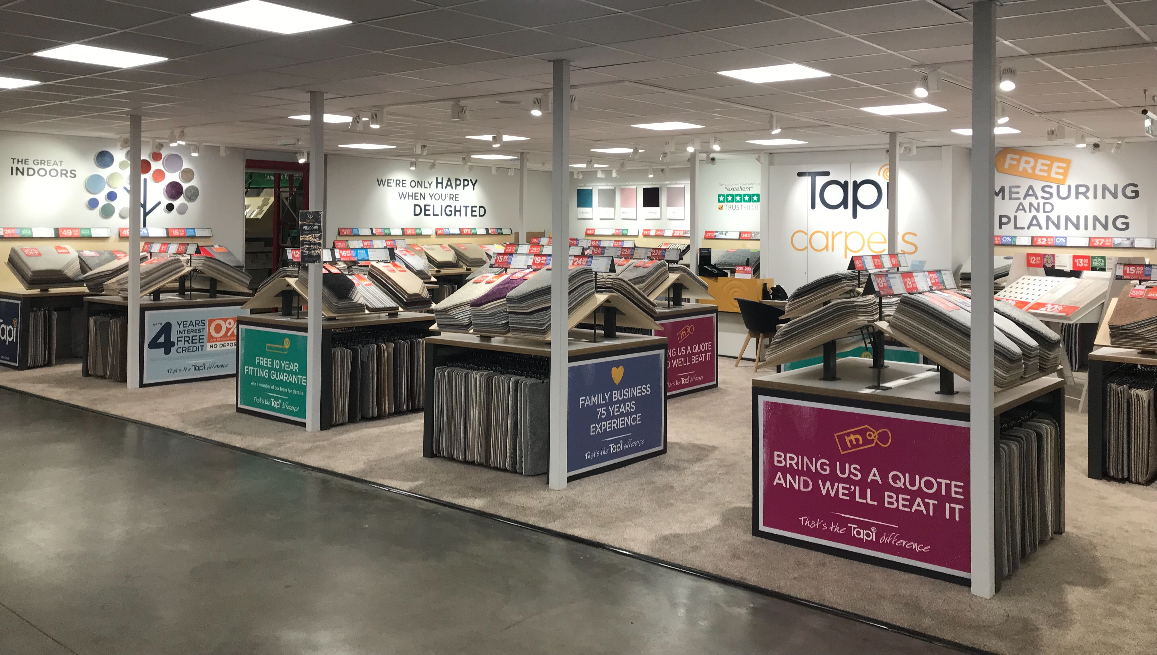 Tapi Carpets within Rayleigh Weir Homebase