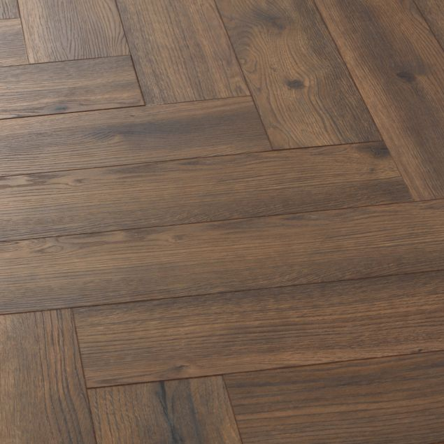 Ravello Weathered Oak Herringbone, Weathered Oak Laminate Flooring