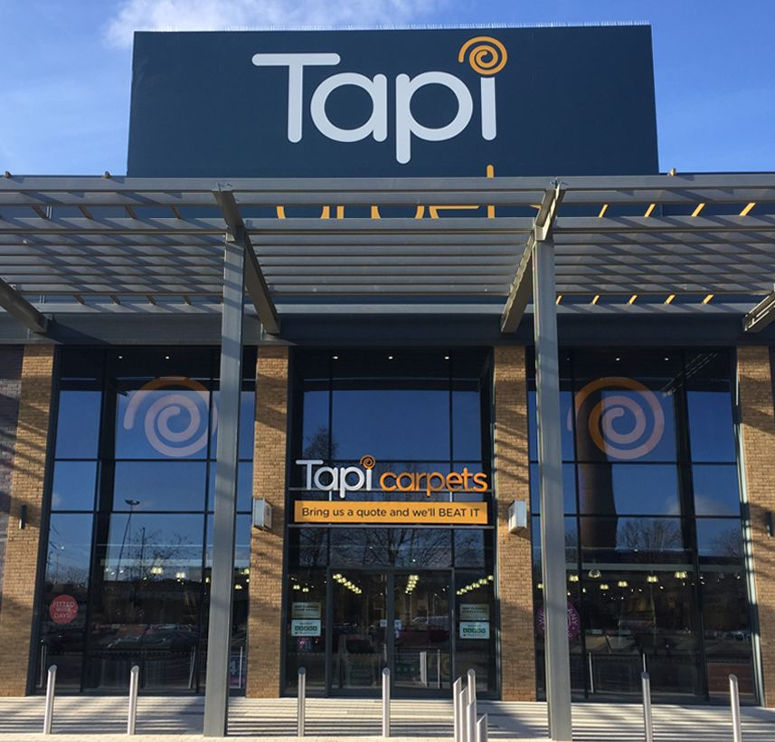 Tapi Carpets store entrance