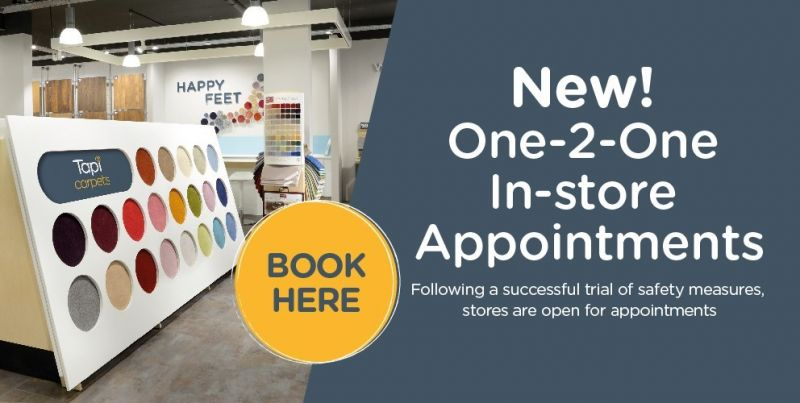 New Tapi In-store Appointments