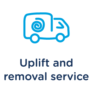 Tapi's Uplift and Removal service.
